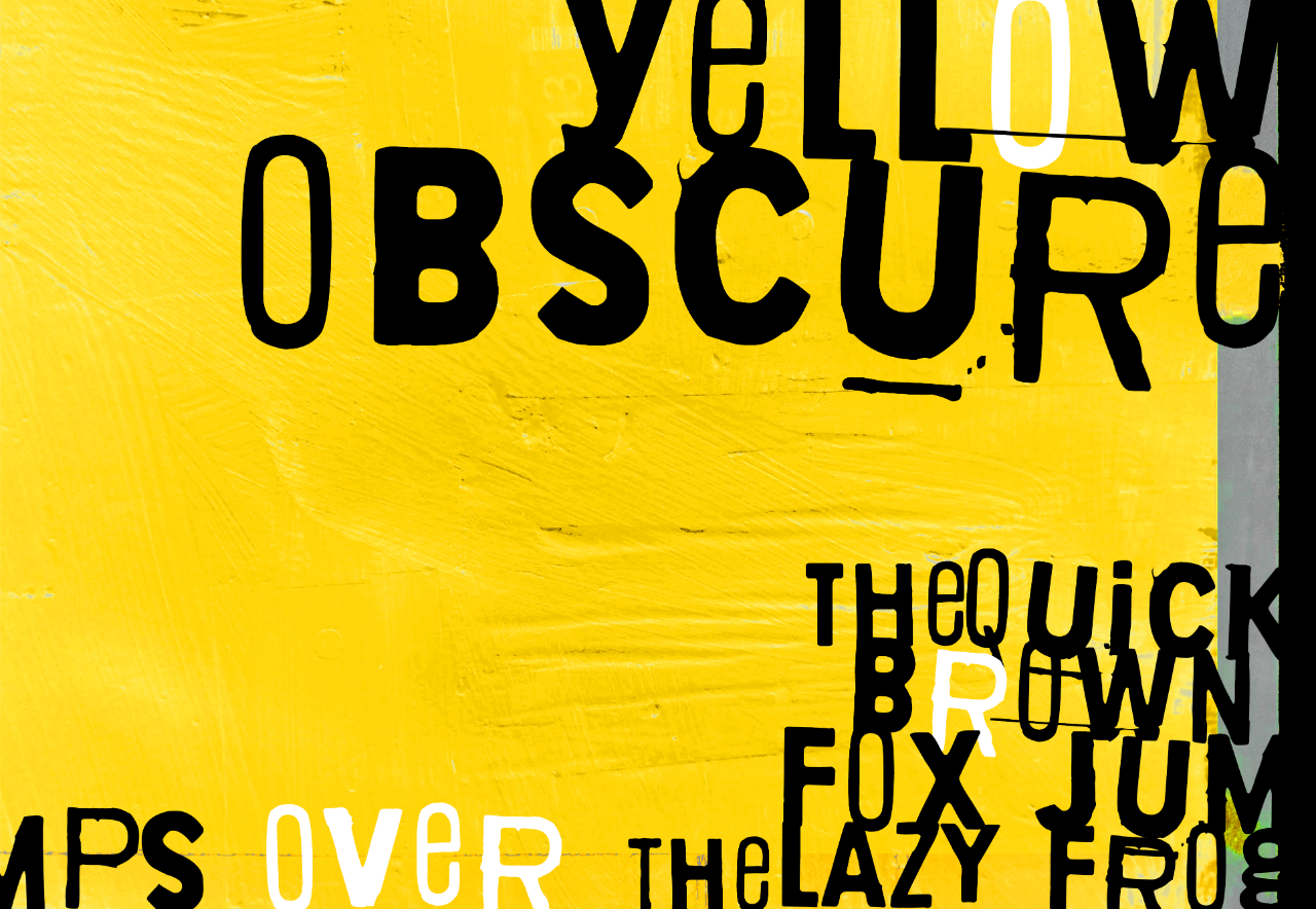 Yellow Obscure 2019